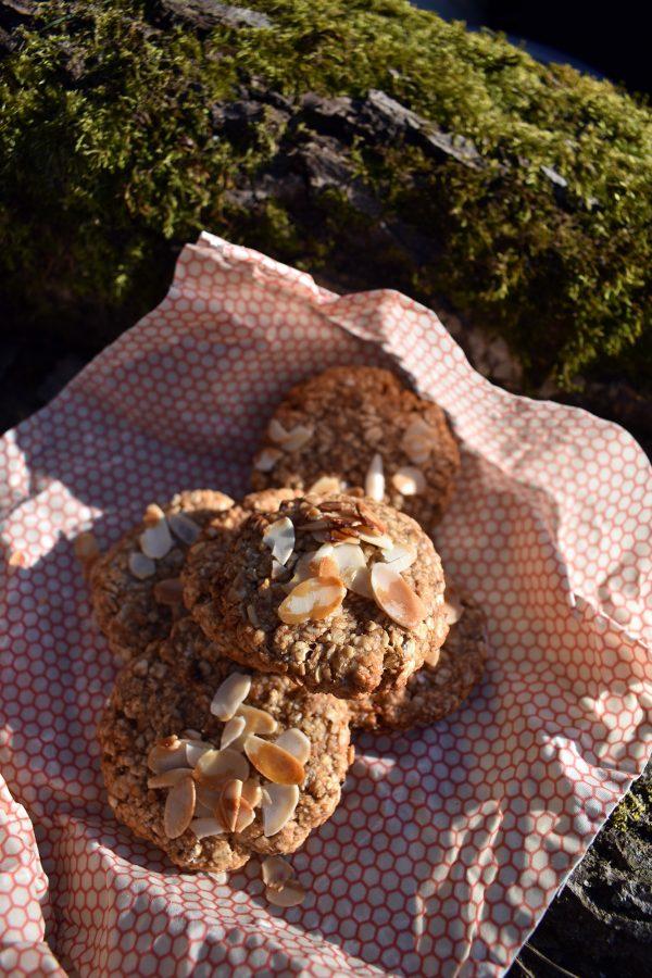 Avižiniai sausainiai su riešutų sviestu